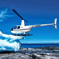 Вертолет и айсберг :: Alexander Demetev