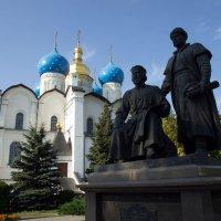 Благовещенский собор и памятник архитекторам Казанского кремля :: Irina Shtukmaster
