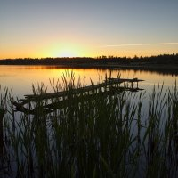 Вечер на озере :: Юрий Кольцов