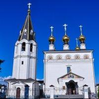 Храм в Малом Китиже :: Сергей Тагиров