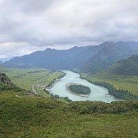 Алтай, река бирюзовая Катунь :: Сергей Завьялов