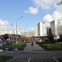 Мощное пробуждение Подмосковных городов. :: Ольга Кривых