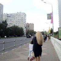 Будни городские, а волосы шикарные! :: Ольга Кривых