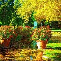 Осень тихой поступью приходит, золото повсюду рассыпает... :: Nina Yudicheva
