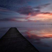 Бухта рубиновых облаков... :: Roman Lunin