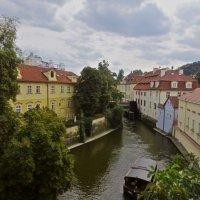 и это Прага. Река Чертовка :: Елена