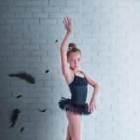 Одиллия. Черный лебедь (балансируя между светом и тенью). :: Ольга Егорова