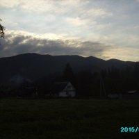 Утро  в   Ворохте :: Андрей  Васильевич Коляскин