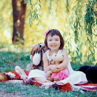 Выездная фотосессия в парке :: марина алексеева