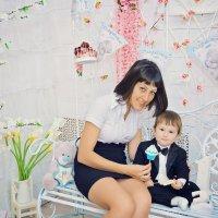 Фотосессия мамы и сына :: марина алексеева