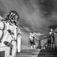 А я хочу уехать на велосипеде в небо, мама! :: Ирина Данилова