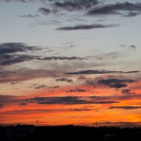 Закат 16 августа 2016 :: Михаил Аленин