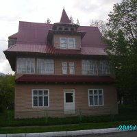 Жилой   дом   в   Ворохте :: Андрей  Васильевич Коляскин