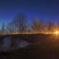 Апрельское утро на меловых горах. :: Юрий Клишин
