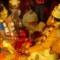 Индийская свадьба :: Тарун Дас