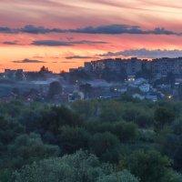 Городской закат :: Сергей Калистратов