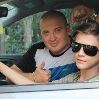 Саня с сыном. :: Любовь