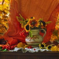 Разноцветная блажь сентября... :: Валентина Колова