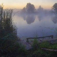 Река в тумане :: Сергей Корнев