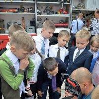 профессия пожарный... Классный час 1 сентября :: Мария Климова