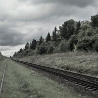 Путь под облаками. :: Андрий Майковский