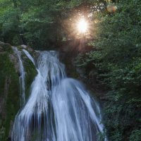 Водопад Джур-Джур на закате :: Валерия заноска