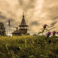 Часовня Георгия Победоносца в деревне Усть-Яндома :: Алексей Калугин