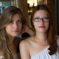 Анастасия и Виктория :: Cain Amberskii