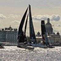 Парусные гонки Extreme sailing series :: Вера Моисеева