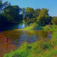 На реке Истре :: Григорий Кучушев