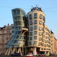 Танцующий дом, Прага :: Владимир Брагилевский