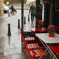 дождливое кафе :: Дарья Садовникова