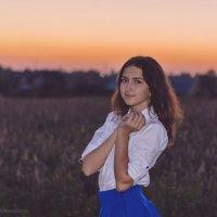 Красавица и закат :: Алеся Пушнякова