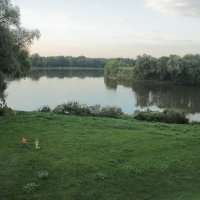 вечер на Москва реке :: Тарас Золотько