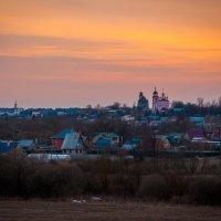 Закат в Боровске :: Alexander Petrukhin