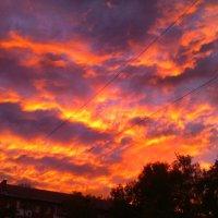 Огненные облака :: Vik Fox