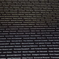 Маутхаузен-Музей, плиты с именами узников лагеря. :: Сергей и Ирина Хомич