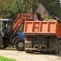 Уборка мусора :: Сергей Уткин