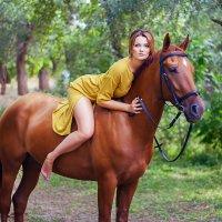 На коне :: Екатерина Кузнецова