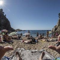 on the beach :: Dmitry Ozersky