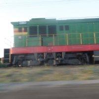 Волжский поезд :: Анастасия сосновская