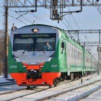 Электропоезд ЭД4М-0447 :: Денис Змеев