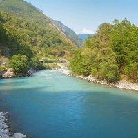 Река Бзыбь (Абхазия) :: Виктор Филиппов
