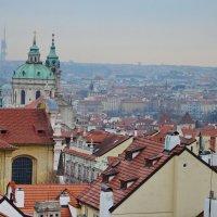 Прага, вид с Пражского града :: Владимир Брагилевский