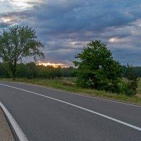 Дорога в рассвет :: Дмитрий Сиялов
