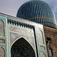 Мечеть в Питере. Фрагмент :: Наталья