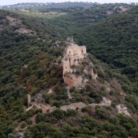 Замок Монфор — замок крестоносцев, расположенный в Верхней Галилее на севере Израиля :: vasya-starik Старик