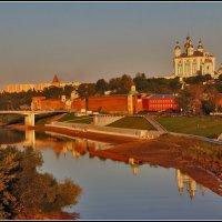 теплый вечер в Смоленске :: Дмитрий Анцыферов