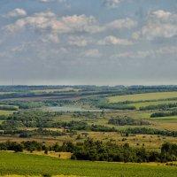 Озеро среди полей . :: Va-Dim ...