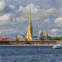 Вид на Петропавловскую крепость. Санкт-Петербург :: Борис Гольдберг